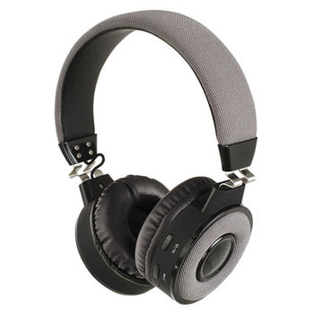 Casque compatible Bluetooth® Gris